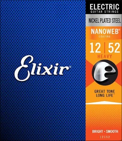 Elixir Electric Nickel Plated Steel NANOWEB | 012-052