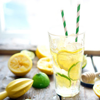 Vitamin Cocktail with Honey and Sea Salt Recipe