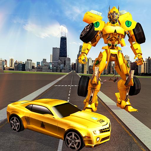 Car Robot Transformation Transport Simulator 2018 icon
