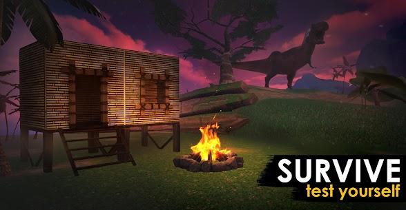 Jurassic Survival Island EVO PRO  Apk Mod (Dinheiro Infinito + Sem Fome e Sede) 5