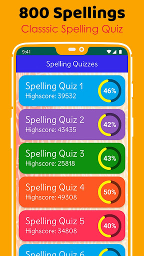 Ultimate English Spelling Quiz : New 2020 Version android2mod screenshots 3