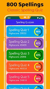Ultimate English Spelling Quiz : New 2020 Version 3
