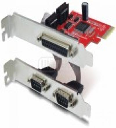 Card chuyển PCI Express -> Com 9+25 Unitek (Y 7508)
