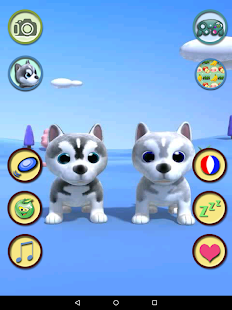Talking Husky Dog- screenshot thumbnail