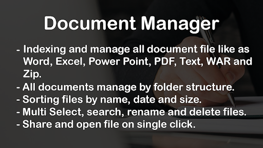 Screenshot for Document Manager in United States Play Store