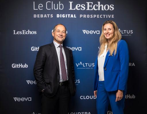 Club Les Echos Digital avec Frédéric Oudéa et Claire Calmejane
