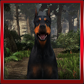 3D Doberman Simulation