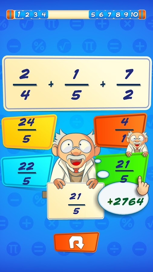 MathTriviaHD- screenshot