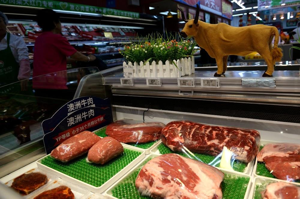 Steak out: China's coronavirus testing chokes beef trade