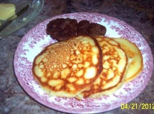 "Grandma's Light and Fluffy Pancakes""I made these with the kids last Saturday..."