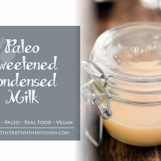 Paleo Sweetened Condensed Milk.