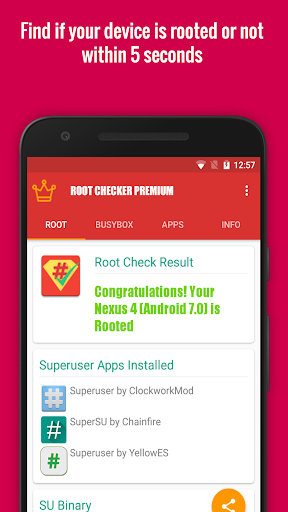 Root/Su Checker Free [Root] 2.2.8 screenshots 10