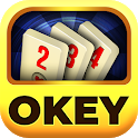 Okey online free board game with friends icon