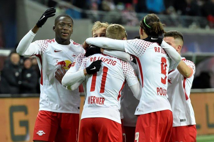 Spektakelrijke wedstrijd tussen RB Leipzig en Herta Berlijn eindigt op een gelijkspel