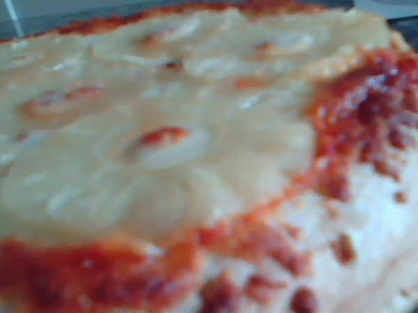 Tammi's Cheese Pizza With Pineapple