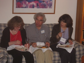 Photo: Professors Elizabeth Loftus, Mark Machina and Janet Phelps