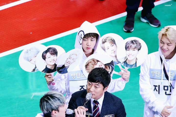 Jin fell asleep during ISAC, and BTS members pranked him