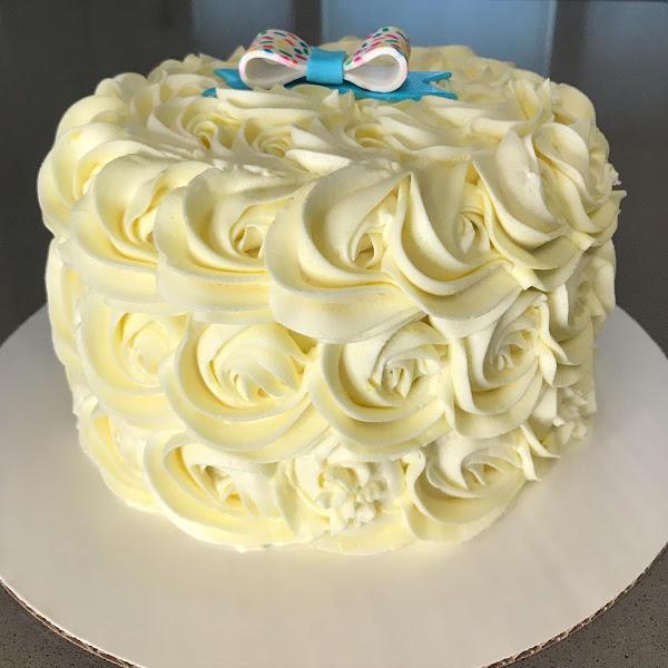 Lemon cake. Best lemon cake I've ever tasted