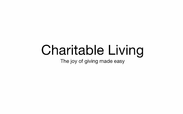 CharitableLivingExtension