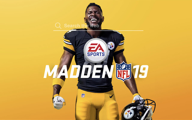 Madden NFL 19 Wallpapers Tab Theme