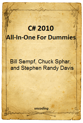 C-sharp 2010 All in One For Dummies