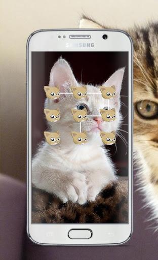 Cat Pattern Lock Screen