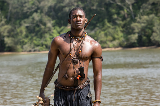 Malachi Kirby as Kunta Kinte in the remake of the Roots TV series.