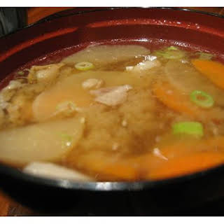 Japanese Clear Soup.