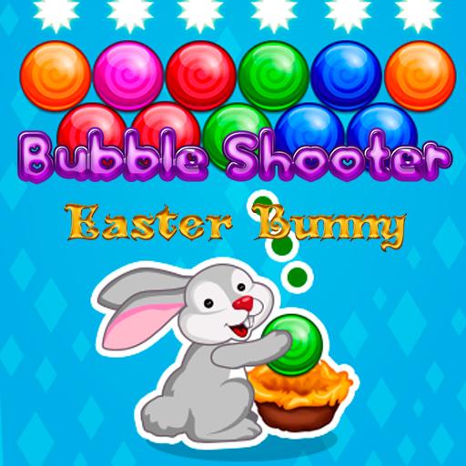 Bubble Shooter Easter Bunny