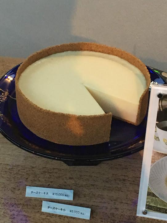 鎌倉山の高級チーズケーキ