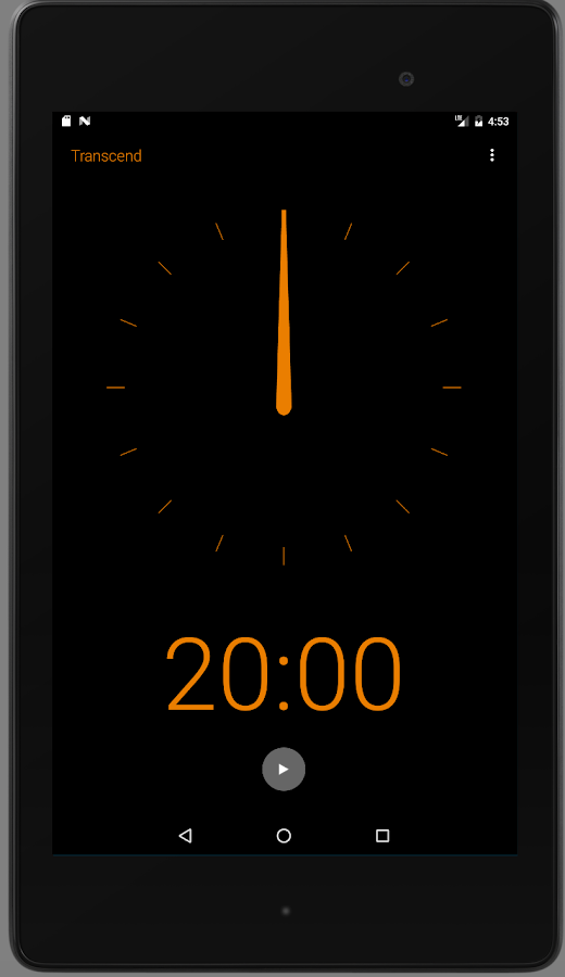 Transcend Meditation Timer- screenshot