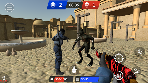 Zombie Top - Online Shooter  captures d'écran 3
