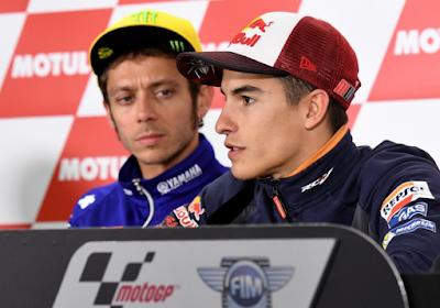 Marquez ne changera pas son style malgré les reproches de Rossi