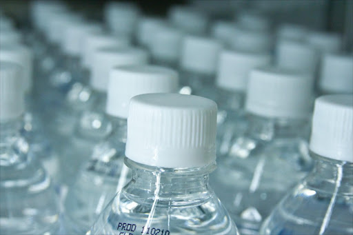 Bottled water. File photo.