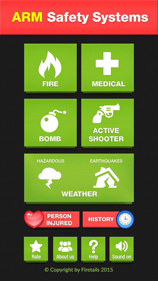 ARM Safety System- screenshot