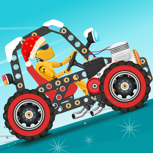 Car Builder and Racing Game for Kids Icon