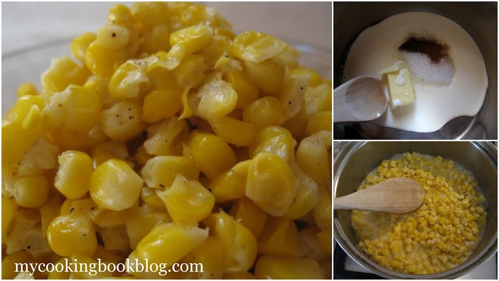 Царевица със сметана (Creamed Corn)