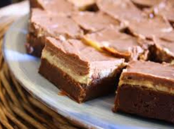 Nutty Chocolate Squares Recipe
