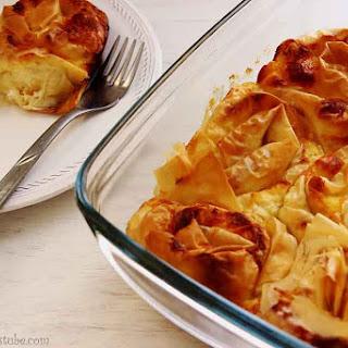 Banitsa – Traditional Bulgarian Food.