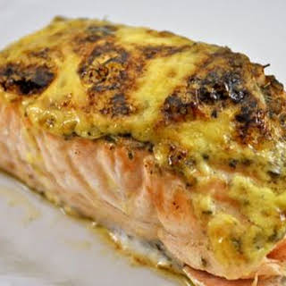Baked Salmon Fillet With Mayonnaise Recipes.