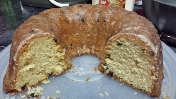 Eggnog Pound Cake With Rum Glaze Recipe