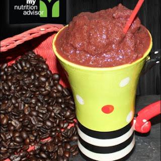 Energy CappuGreeno Recipe - A coffee energy smoothie.