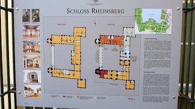 Photo: Übersichtsplan des Schlossgebäudes