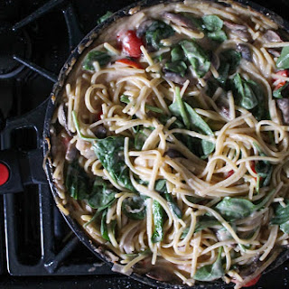 White Wine Pasta Skillet with Cleverona Fry Pan