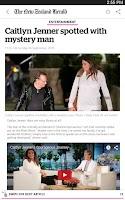 Screenshot of NZ Herald News