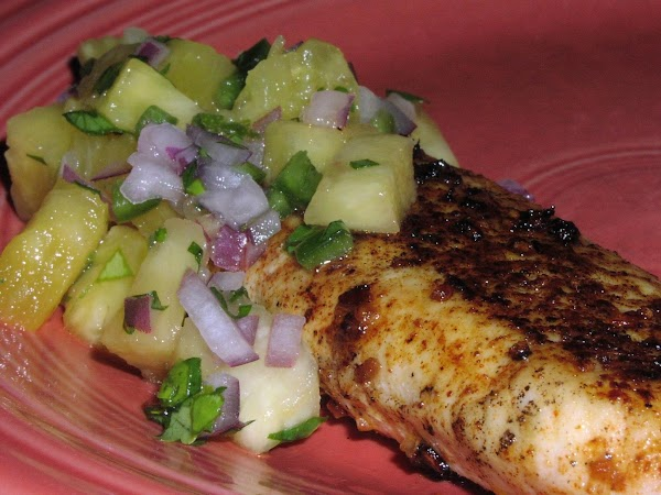 Grilled Tilapia With Pineapple Salsa Recipe