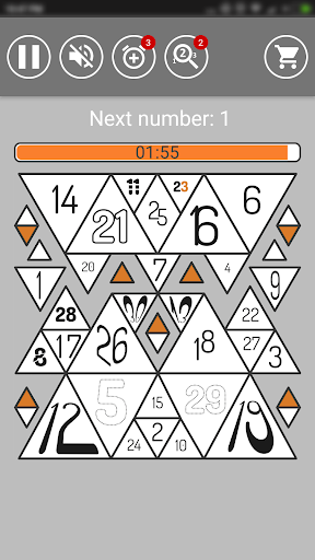 Find Numbers | Brainstorm Puzzle Game 1.9.6-free screenshots 2