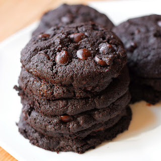 Double Chocolate Healthy Cookie.