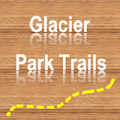 Trails of Glacier N. Park