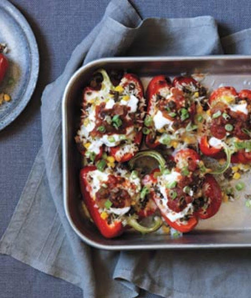 Southwestern Stuffed Peppers Recipe